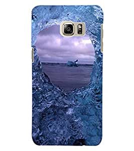ColourCraft Amazing Water Effect Design Back Case Cover for SAMSUNG GALAXY S6 EDGE PLUS