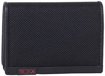 Tumi Men's Alpha Gusseted Id Card Case,Black,One Size