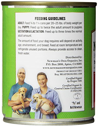 Newman's Own Organics Beef Grain-Free for Dogs, 12-Ounce Cans (Pack of 12)_Image4