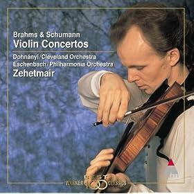 Schumann : Violin Concerto in D minor Op. posth : I In kr�ftigem, nicht zu schnellem Tempo