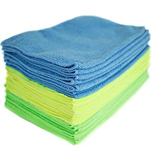 Zwipes Microfiber Cleaning Cloths, Pack of 24