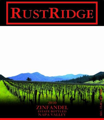 2010 Rustridge Zinfandel, Napa Valley 750 Ml