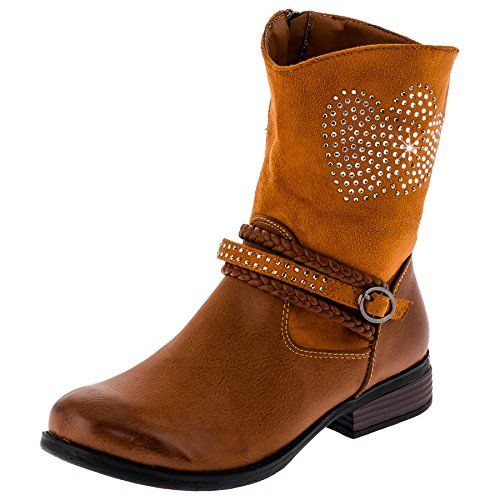 infiniti-shoes-girls-boots-brown-size-uk-3