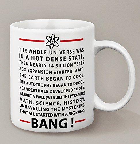 Tazza, motivo: The Big Bang Theory, Kanto Factory