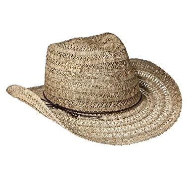 Product Image Mossimo Supply Co. Seagrass Cowboy Hat With Cord Trim - Tan