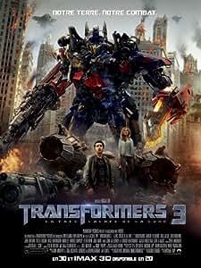 Affiche Cinéma Originale Grand Format - Transformers 3 : La Face Cachée De La Lune (format 120 x 160 cm pliée)