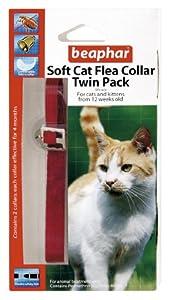 Beaphar Cat Flea Collar Velvet - Red