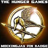 THE HUNGER GAMES MockingJay Bird Pin Badge Bronze