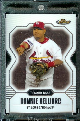 2007 Topps Finest #134 Ronnie Belliard Baseball Card St. Louis Cardinals - Mint Condition - Shipped In Protective Display Case !! - Buy 2007 Topps Finest #134 Ronnie Belliard Baseball Card St. Louis Cardinals - Mint Condition - Shipped In Protective Display Case !! - Purchase 2007 Topps Finest #134 Ronnie Belliard Baseball Card St. Louis Cardinals - Mint Condition - Shipped In Protective Display Case !! (Topps, Toys & Games,Categories,Games,Card Games,Collectible Trading Card Games)