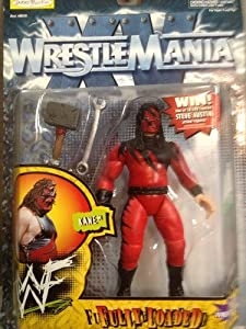 WWF WWE Wrestlemania XV Kane Fully Loaded Figure