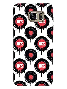 MTV Gone Case - Music - First Love - Vinyl - White - Hard Back Case Cover for Samsung S7 - Superior Matte Finish - HD Printed Cases and Covers