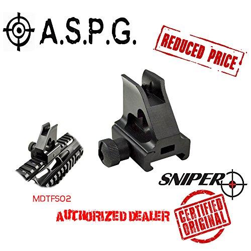 Sniper A2 Iron Sight - Detachable, Low Profile, Picatinny (Ar Quad Rail Carbine Free Float compare prices)