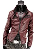 ライダースジャケット ミリタリージャケット レザージャケット ライダース ジャケット メンズ 916500A
