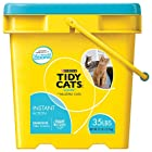 GOLDEN CAT COMPANY 702043 Tidy Cats Multiple Cat Immediate Odor Control Scoop Pail, 35-Pound