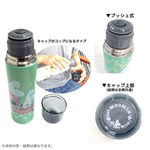 ムーミン スリムステンレスボトル ピクニック MMLC1348R