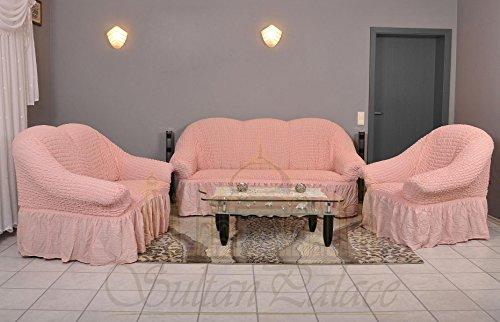 Stretch-2-Sitzer-Bezug-2-Sitzer-Husse-aus-Baumwolle-Polyester-Sehr-elastische-Sofaueberwurf-in-rosa-pink-Sofabezug-Hussen-Sofahusse-Stretch-Husse-Stretch-Hussen-Sofahusse-2-Sitzer-Sofabezug-2-Sitzer