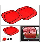 Spedy Car Window Sunshade Red - Set Of 4 For BMW 911