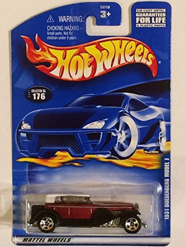 hot-wheels-2001-176-1931-duesenberg-model-j-164-scale