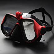 Anti-fog Diving Goggles Adult Snorkeling Goggles Mask Eyewear Tempered Glass Lens For Gopro Camera