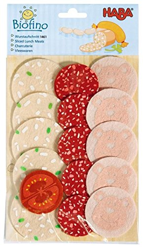 HABA Soft Biofino Sliced Lunch Meats- Play food
