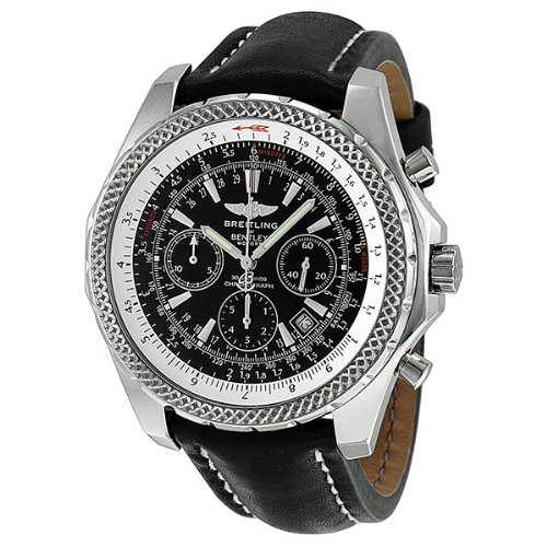 Breitling Bentley Motors Automatic Chronograph Black Dial Mens Watch L2536212-L501BKLT