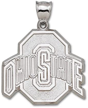 Ohio State Buckeyes Giant 1 5 8 W x 1 1 2 H Athletic Ohio State O Pendant - 14KT Gold... by Logo Art