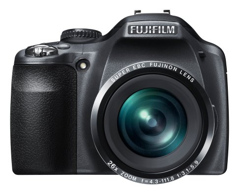Fujifilm FinePix SL260 Digital Camera - Black (14MP , 26 x Optical Zoom) 3 inch LCD