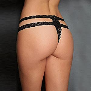 Womens Underwear, FTXJ Sexy Lace Briefs Lingerie G-string Thongs Panties