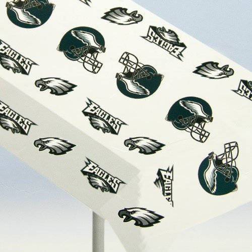 Rico Industries TBE2501 Table Cover, Vinyl - Philadelphia Eagles - 1