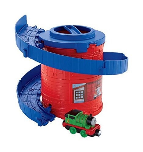 Fisher-Price Thomas The Train: Take-n-Play Spiral Tower Tracks with Percy