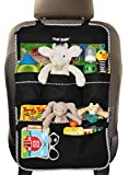 Premium Backseat Organizer for Kids, Cars - EXTRA Large Size, Kids' Accessory, Car Seat Protector - Kick Mat, Made of Durable Material... (Extra Large)
