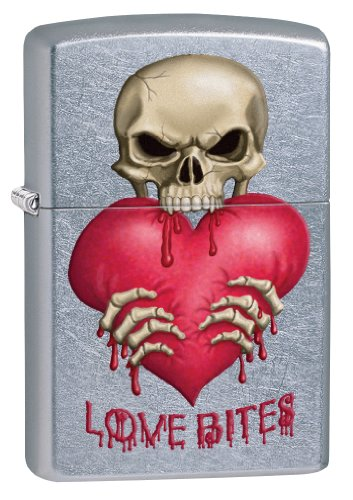 Zippo Love Bites Pocket Lighter