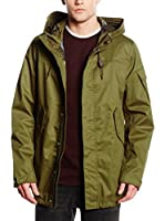 ADD Abrigo Impermeable (Verde Militar)