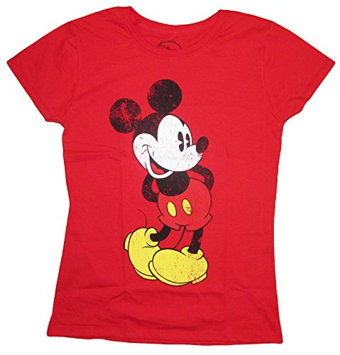 disney juniors mickey minnie mouse regular fit t shirt. Black Bedroom Furniture Sets. Home Design Ideas