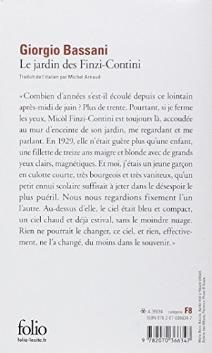 il giardino dei finzi contini pdf libro