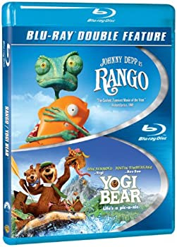Rango / Yogi Bear on Blu-ray