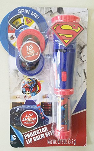 Superman Projector and Lip Balm Set