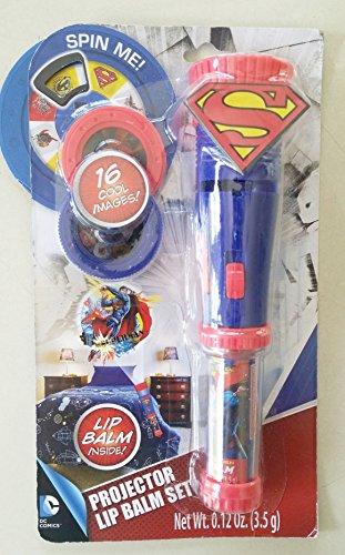 Superman Projector and Lip Balm Set
