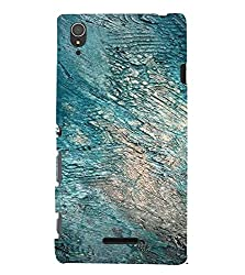PrintVisa Rock Pattern 3D Hard Polycarbonate Designer Back Case Cover for Sony Xperia T3