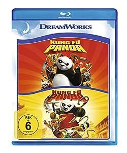 Kung Fu Panda 1+2 [Blu-ray]