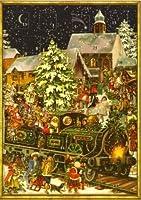 Christmas Train German Mini Advent Calendar from Sellmer Verlag