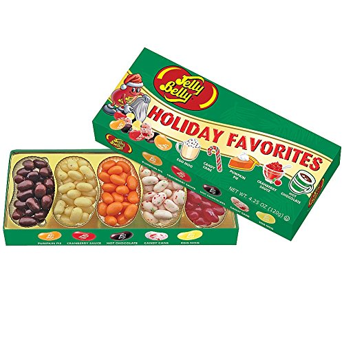 Jelly Belly Holiday Favorites Five Flavor Gift Box (Jelly Belly Holiday Flavors compare prices)