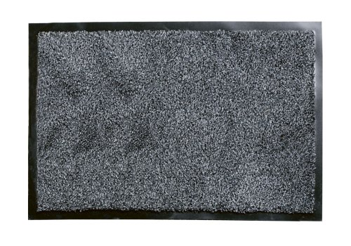 William Armes Dandy Washamat Doormat, 80 x 50 cm, Anthracite