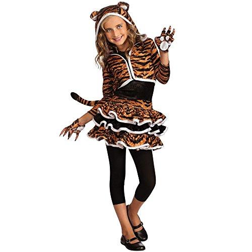 Tigress Hoodie Costume - Girls