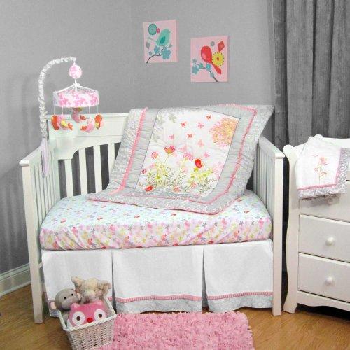 Botanica 3 Piece Baby Crib Bedding Set By Just Born front-553194
