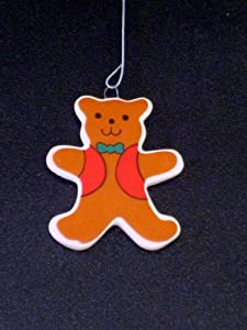 Ceramic Teddy Bear Tree Ornament