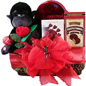 Valentine's Day Chocolate Basket