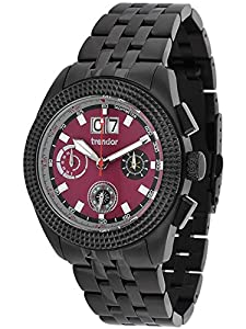 trendor 7636-05 Mens Chronograph Big Date