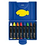 Pelikan 722959 Wax Crayons Water Soluble 8 Pieces