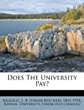 Does the University Pay?
